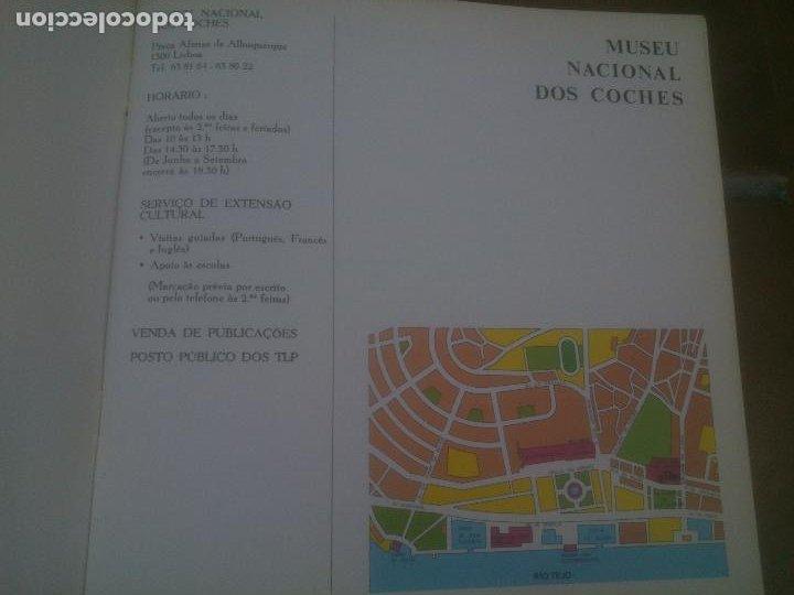 Libros: GUIA DO MUSEU NACIONAL DOS COCHES LISBOA 1989 Texto in portuguese. - Foto 4 - 221622753