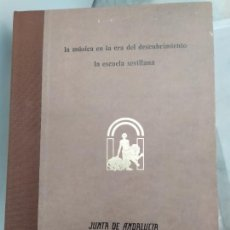 Libros: LA MUSICA EN LA ERA DEL DESCUBRIMIENTO LA ESCUELA SEVILLANA. Lote 221625585