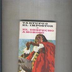 Libros: BIBLIOTECA SOPENA: TARTUFO O EL IMPOSTOR - EL DESPECHO AMOROSO. Lote 221625755