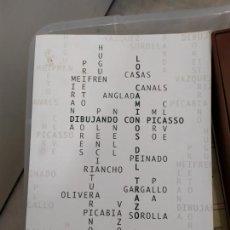 Libros: LOS CAMINOS DEL TRAZO DIBUJANDO CON PICASSO. Lote 221625793