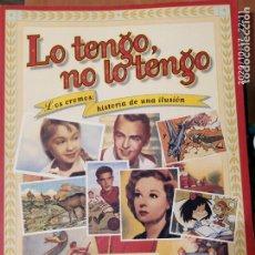 Libros: LO TENGO NO LO TENGO. Lote 221626366