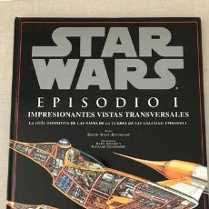 Libros: STAR WARS EPISODIO 1 GUIA DE NAVES ED. 2000 - DAVID WEST REYNOLDS. Lote 219929271