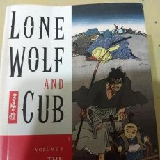 Libros: LIBRO COMICS POWER RISITING STAR LONE WOLF AND CUB. Lote 221019017