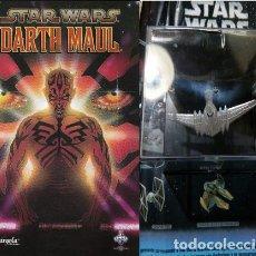 Libros: STAR WARS DARTH MAUL TOMO UNICO NAVE DE REGALO ED. 2007. Lote 221031371