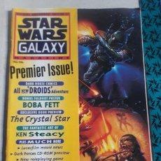 Libros: STAR WARS GALAXY N 1 ANO 1994 POSTER BOBA FETT COMPLETA ED. 1994. Lote 221055657
