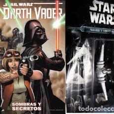 Libros: STAR WARS DARTH VADER SOMBRAS Y SECRETOS NAVE DE REGALO ED. 2016. Lote 221056187