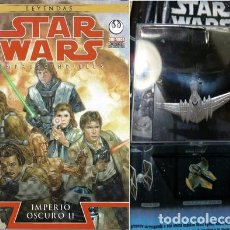 Libros: STAR WARS LEYENDAS IMPRESC IMPERIO OSCURO 2 NAVE ED. 2016. Lote 221061075