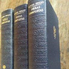 Libros: OBRAS COMPLETAS (3 TOMOS - COMPLETA) - ALDOUS HUXLEY. Lote 221685441
