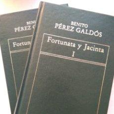 Libros: FORTUNATA Y JACINTA 2 TOMOS/BENITO PEREZ GALDÓS. Lote 221859578