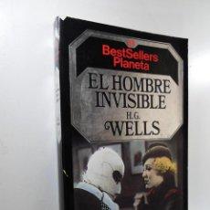 Libros: EL HOMBRE INVISIBLE WELLS, H. G.. Lote 221877208