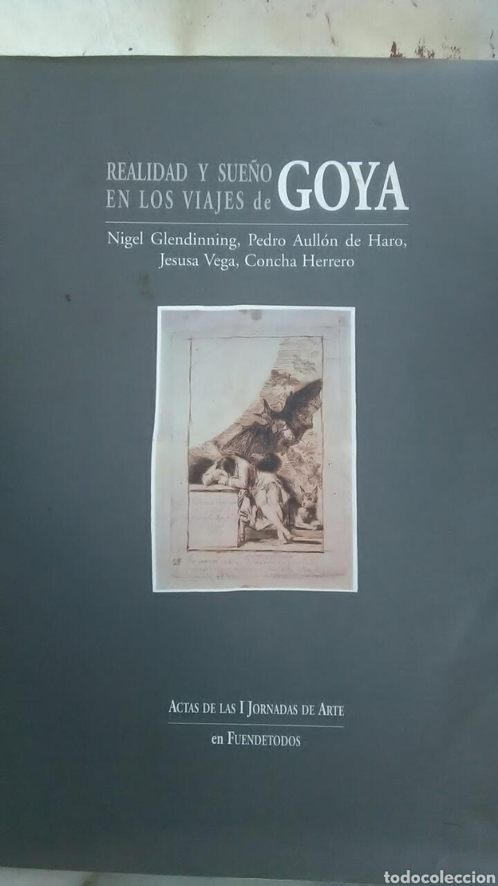GOYA. REALIDAD Y SUEÑO EN LOS VIAJES DE GOYA. EDICIONES DE FUENTEDETODOS. 1996 (Libros sin clasificar)