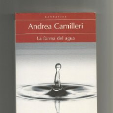 Libros: LA FORMA DEL AGUA. - CAMILLERI, ANDREA:. Lote 221944690