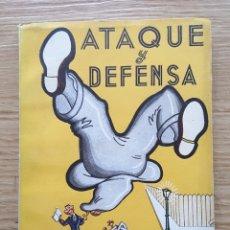 Libros: JUDO Y JIU-JITSU. ATAQUE Y DEFENSA. Lote 221945623