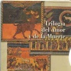Libros: TRILOGÍA DEL AMOR Y DE LA MUERTE. I/ CÁTAROS. II/ VALDENSES. III/ HUGONOTES. 3 TOMOS ACEVES, OCTAVIO. Lote 222226321