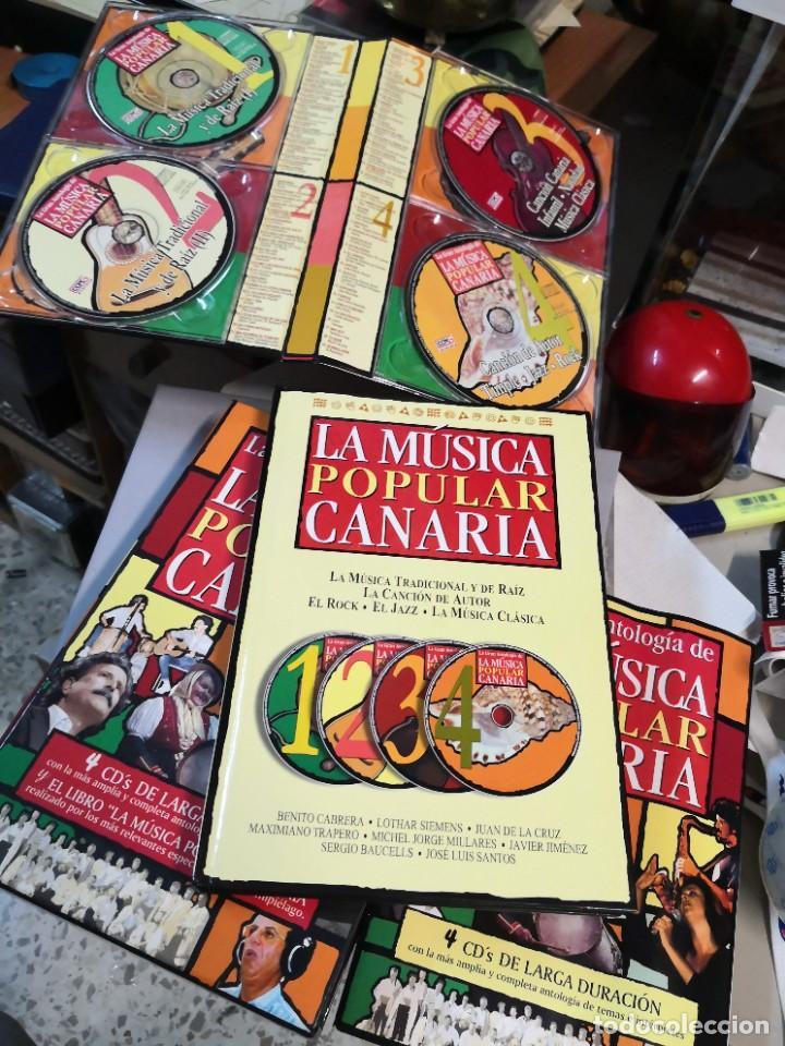 Libros: La música popular Canaria la Gran antología de la 4 CD y el libro - Foto 2 - 222236471