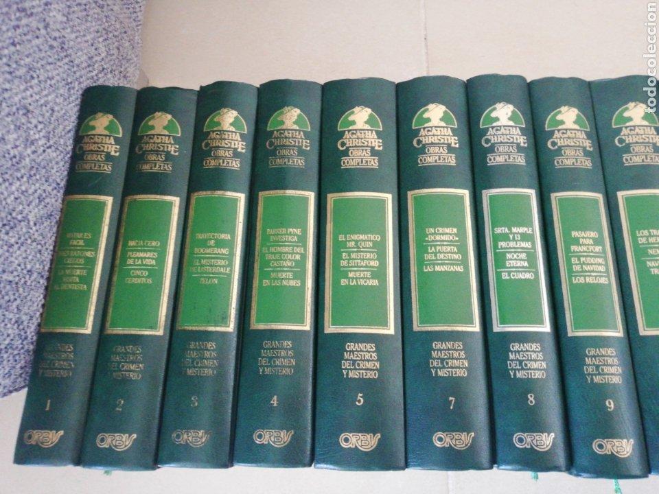 Libros: Agatha Christie obras completas (24 tomos) (falta el 6-24-26)editorial Orbis - Foto 2 - 236996540