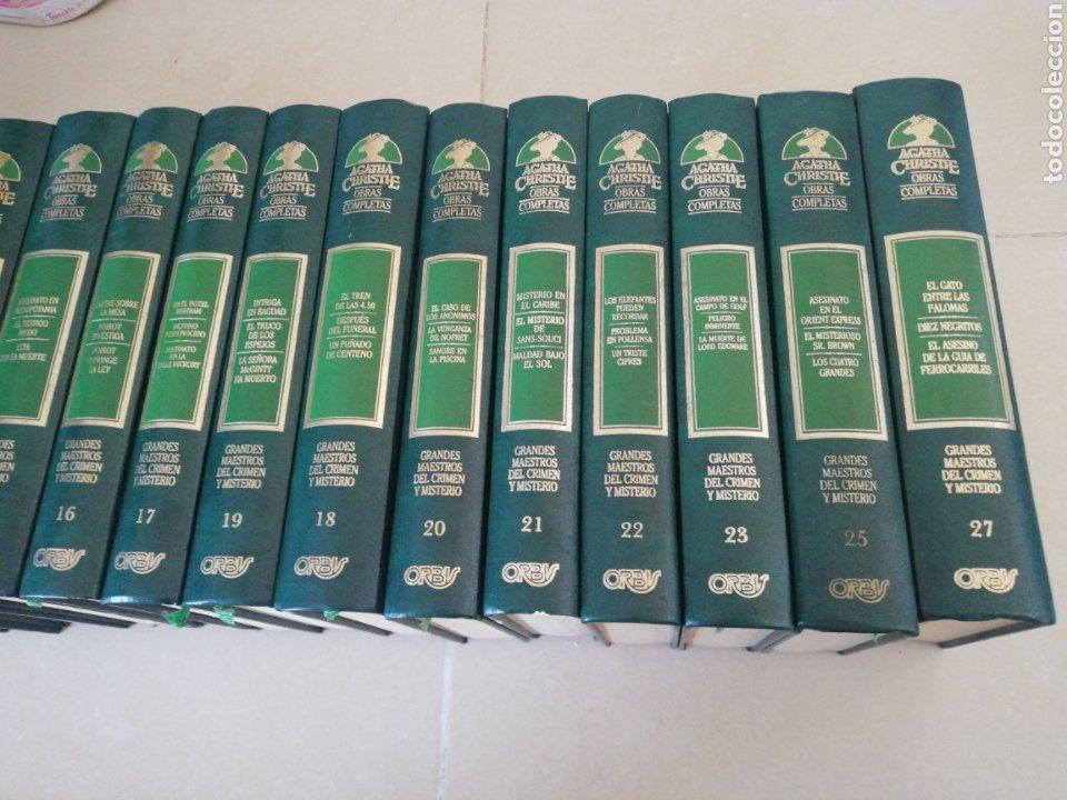 Libros: Agatha Christie obras completas (24 tomos) (falta el 6-24-26)editorial Orbis - Foto 4 - 236996540