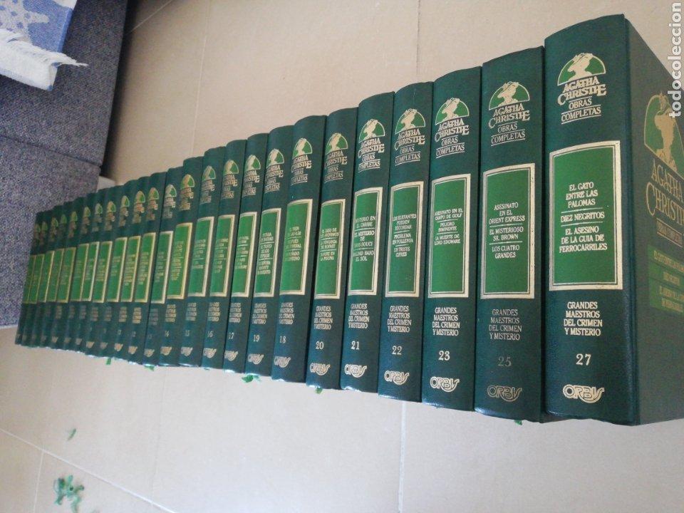 AGATHA CHRISTIE OBRAS COMPLETAS (24 TOMOS) (FALTA EL 6-24-26)EDITORIAL ORBIS (Libros sin clasificar)