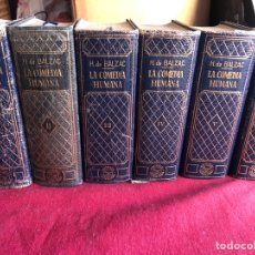 Libros: LA COMEDIA HUMANA. HONORATO DE BALZAC. 1 EDICIÓN. Lote 222454635