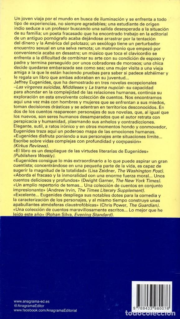 Libros: DENUNCIA INMEDIATA de JEFFREY EUGENIDES - ANAGRAMA, 2018 (NUEVO) - Foto 2 - 222455336