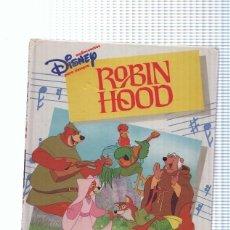 Libros: AUDIOCUENTOS DISNEY : ROBIN HOOD( NO LLEVA CASSETTE ). Lote 222490262