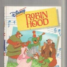 Libros: AUDIOCUENTOS DISNEY PARA SIEMPRE: ROBIN HOOD (NO LLEVA CASSETTE ). Lote 222490406