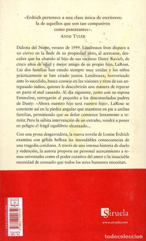 Libros: EL HIJO DE TODOS de LOUISE ERDRICH - SIRUELA, 2017 (NUEVO) - Foto 2 - 222500466