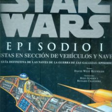 Libros: NUMULITE * STAR WARS EPISODIO I VISTAS EN SECCIÓN DE VEHÍCULOS Y NAVES VEHÍCULO NAVE. Lote 222504646