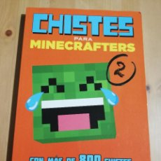 Libros: CHISTES PARA MINECRAFTERS 2 (MICHELE C. HOLLOW / JORDON P. HOLLOW / STEVEN M. HOLLOW). Lote 222504978