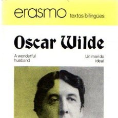 Libros: A WONDERFUL HUSBAND / UN MARIDO IDEAL - WILDE, OSCAR. Lote 222528962
