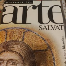 Libros: ARTE CRISTIANO Y BIZANTINO. HISTORIA DEL ARTE SALVAT N°7. Lote 222571190