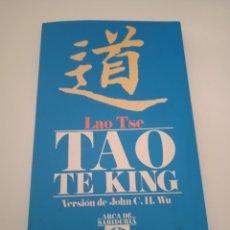 Libros: TAO TE KING VERSION DE JOHN C.H.WU. Lote 222616443