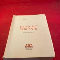 Libros: DERECHO MERCANTIL. Lote 222625676