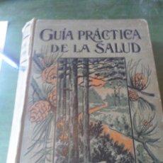 Libros: GUÍA PRÁCTICA DE LA SALUD. FEDERICO M. ROSSITER. CUARTA EDICIÓN. BARCELONA. Lote 222626000