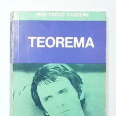 Libros: PASOLINI, PIER PAOLO - TEOREMA.. Lote 221904681