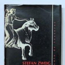 Libros: ZWEIG, STEFAN. - EL MUNDO DE AYER. MEMORIAS DE UN EUROPEO.. Lote 222650527