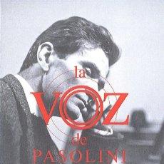Libros: VV. AA. - LA VOZ DE PASOLINI.. Lote 222650765