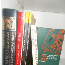 Libros: LOTE 3 LIBROS DE STEFAN ZWEIG - STEFAN ZWEIG. Lote 222679430