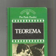 Libros: TEOREMA. - PASOLINI, PIER PAOLO:. Lote 222819452