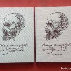 Libros: SANTIAGO RAMON Y CAJAL (1852-1934) - EXPEDIENTES ADMINISTRATIVOS - 2 TOMOS - ED. NUM. 2959 DE 3100. Lote 222859361