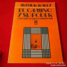 Libros: EL CAMINO Y SU PODER, DE ARTHUR WALEY, EDIT. KIER, 1979, 189 PÁGINAS EN RÚSTICA. Lote 223243783