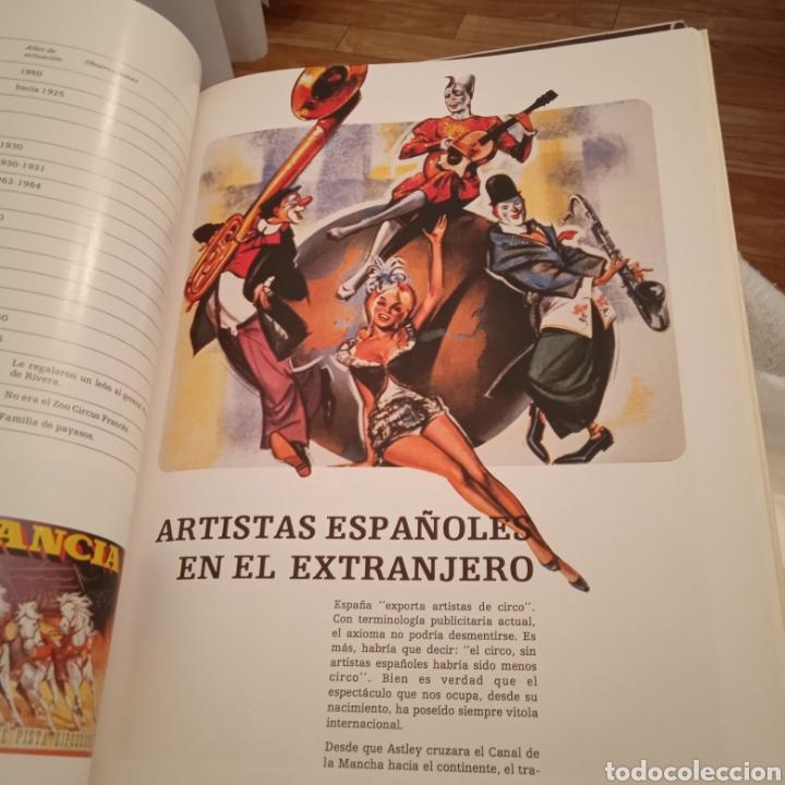 Libros: DOS TOMOS DEL MARAVILLOSO MUNDO DEL CIRCO - Foto 12 - 223536661
