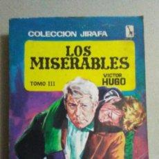 Libros: LOS MISERABLES - VICTOR HUGO. Lote 224376455