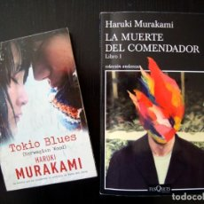 Libros: LOTE DOS LIBROS DE HARUKI MURAKAMI. Lote 224430431