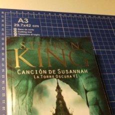 Libros: CANCIÓN DE SUSANNAH - STEPHEN KING. Lote 224640237