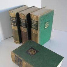 Libros: STEFAN ZWEIG. OBRAS COMPLETAS I, II, III, IV. NOVELAS, BIOGRAFÍAS, MEMORIAS Y ENSAYOS. COMPLETA.. Lote 224995370