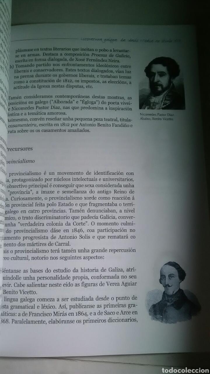Libros: Literatura Galega da idade media a o seculo XIX. A Nosa Terra. 2002 - Foto 5 - 225072305
