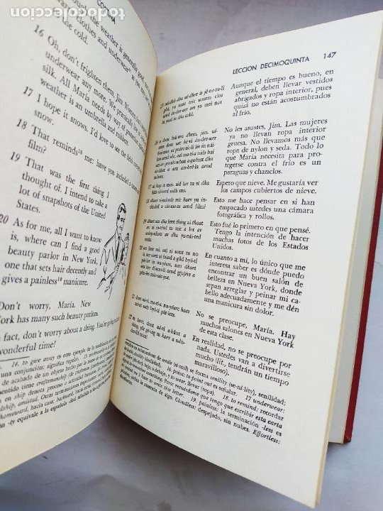 Libros: MÉTODO CORTINA. INGLÉS EN VEINTE 20 LECCIONES. R. DIAZ DE LA CORTINA. 1970. TDK581 - - Foto 2 - 225183163
