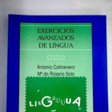 Livres: EXERCICIOS AVANZADOS DE LINGUA.- COLMENERO, ANTONIO. Lote 225587513
