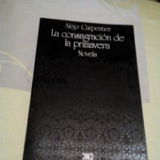 Libros: RES- LIBRO BUENO/LA CONSAGRACION DE LA PRIMAVERA/ALEJO CARPENTIER/MIDE APROX14X21CM/TIENE 576PAGINAS. Lote 225827926